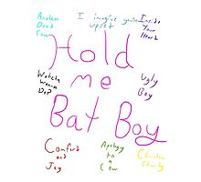 Bat Boy the Musical: Songs by BabyRainicorn
