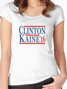 Clinton Kaine 16 Women's Fitted Scoop T-Shirt
