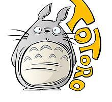 Totoro! by Kibouchi