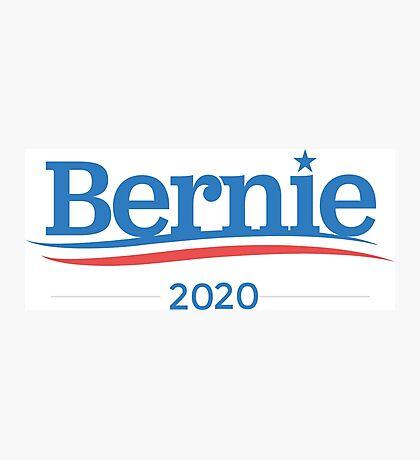 Bernie Sanders 2020 Campaign Photographic Print