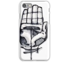 Human hand illustration iPhone Case/Skin