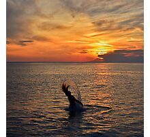 Mermaid Sunset  Photographic Print