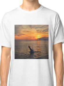Mermaid Sunset  Classic T-Shirt