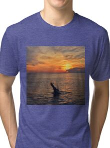 Mermaid Sunset  Tri-blend T-Shirt