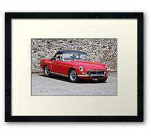 1971 MG Midget Framed Print
