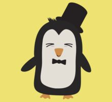 Penguin with suit   One Piece - Short Sleeve