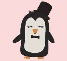 Penguin with suit   Kids Tee