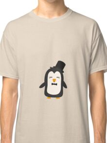 Penguin with suit   Classic T-Shirt