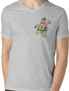 Patrick Star The Riddler Mens V-Neck T-Shirt