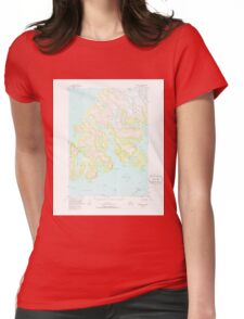 USGS TOPO Map Alaska AK Seward D-3 358989 1951 63360 T-Shirt