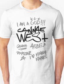Black Kwotes Unisex T-Shirt