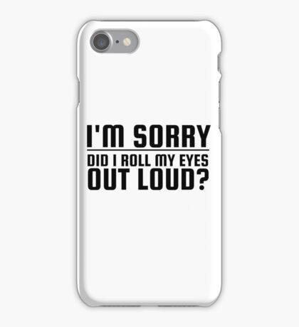 Funny Quote Ironic Humor Cool  iPhone Case/Skin