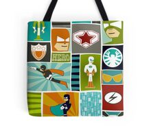 Comic Book Heroes Tote Bag
