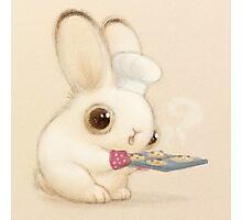 Baker Bunny Photographic Print