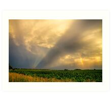 Farmers Weather Optics Art Print
