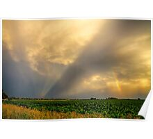 Farmers Weather Optics Poster