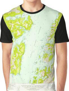 USGS TOPO Map Alaska AK Seward B-3 358909 1952 63360 Graphic T-Shirt