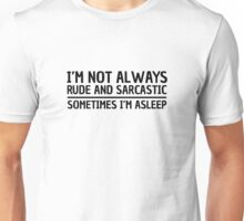 Sarcasm Irony Quote Funny Joke Humor Cool Unisex T-Shirt