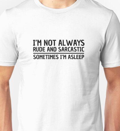 Sarcasm Irony Quote Funny Joke Humor Cool Unisex T-Shirt