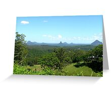 Glasshouse mountains (2) Greeting Card