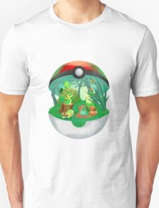 Pokemon: Grass Starters Home Unisex T-Shirt