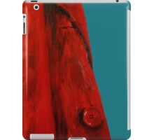Vintage Red Jacket Home Decor Acrylic Contemporary Painting Blue Edit iPad Case/Skin
