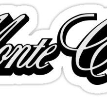 Chevy Monte Carlo  logo Sticker