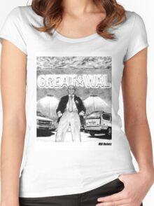 Sam Walton Returns Women's Fitted Scoop T-Shirt