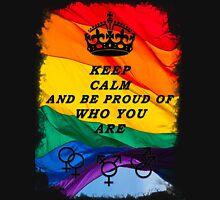 LGBT KEEP CALM BLACK Unisex T-Shirt