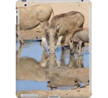 Warthog Family - African Wildlife iPad Case/Skin