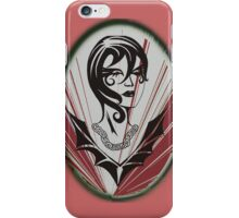 Sanity in disguise (red) iPhone Case/Skin