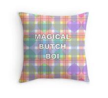 Magical Butch Boi Throw Pillow