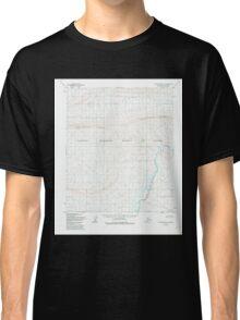 USGS TOPO Map Alaska AK Utukok River A-4 360245 1955 63360 Classic T-Shirt