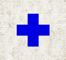 NUMBER 0 NAUTICAL FLAG MARITIME SIGNAL DISTRESSED GRUNGE Sticker
