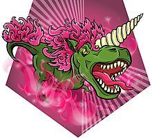 Mutant Zoo - Unicornus Rex Photographic Print