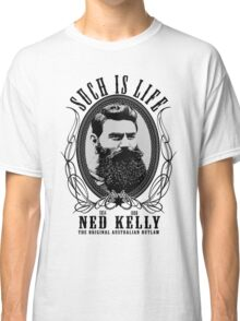 Ned Kelly - Original Outlaw Design Classic T-Shirt
