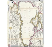 Vintage Map of The Black Sea (1747) iPad Case/Skin