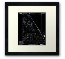 USGS TOPO Map Alaska AK Sumdum B-2 359370 2000 63360 Inverted Framed Print