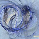 Cornflower Blue by happypattern
