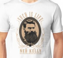 Ned Kelly - Original Outlaw Design in cream Unisex T-Shirt