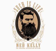 Ned Kelly - Original Outlaw Design in cream Unisex T-Shirt
