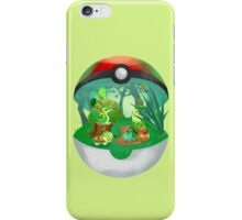 Pokemon: Grass Starters Home iPhone Case/Skin