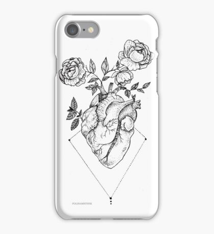 Heart - Roses iPhone Case/Skin