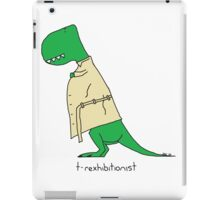 T-Rexhibitionist iPad Case/Skin