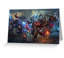 Champions for Legends / LoL Greeting Card