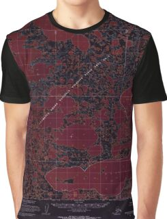 USGS TOPO Map Alaska AK Baird Inlet B-6 354123 1954 63360 Inverted Graphic T-Shirt