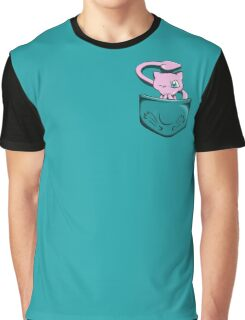 Pocket Mew Graphic T-Shirt