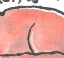 Napping Fox Sticker