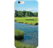 Marsh at Long Warf, Gloucester, MA Early Evening iPhone Case/Skin