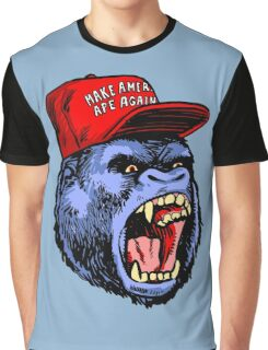 Make America Ape Again Graphic T-Shirt